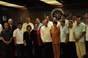 AEG with PNoy